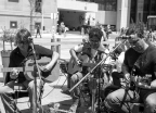 Street Musicians perform in Toronto