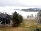 Fog over Peninsula Lake – Huntsville Ontario