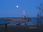 Pink Moon – April 29th, 2018 – Burlington Pier