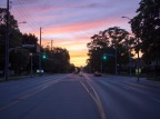 Sunset on Guelph Line, Burlington ON
